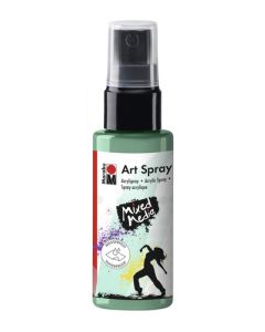 Marabu mixed media art spray 255 aquamarine