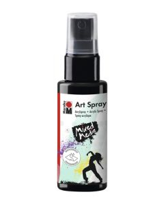 Marabu mixed media art spray 073 black