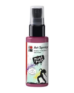 Marabu mixed media art spray 034 bordeaux