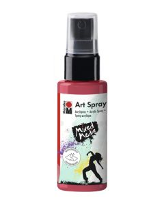 Marabu mixed media art spray 031 cherry red