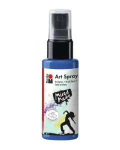 Marabu mixed media art spray 057 gentian