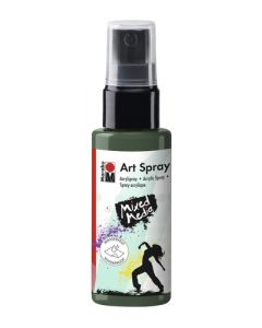 Marabu mixed media art spray 041 khaki