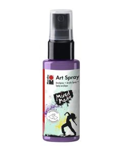 Marabu mixed media art spray 007 lavender