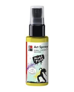 Marabu mixed media art spray 020 lemon