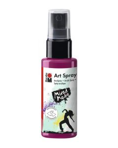 Marabu mixed media art spray 005 raspberry