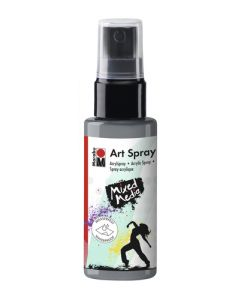 Marabu mixed media art spray 082 silver