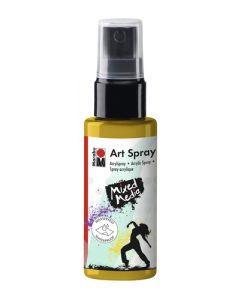 Marabu mixed media art spray 220 sunshine yellow