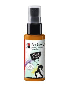 Marabu mixed media art spray 225 tangerine