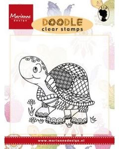 Marianne D Doodle clearstamp ews2218 schildpad