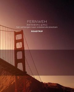 Fernweh, roadtrip journal