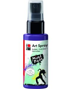 Marabu mixed media art spray 037 plum