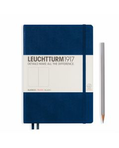 Leuchtturm1917 medium plain navy blue