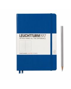 Leuchtturm1917 medium dotted royal blue