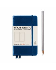 Leuchtturm1917 pocket dotted navy blue
