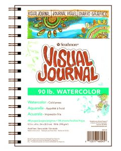 Strathmore 400 series visual journal - Watercolor 14 x 20.3