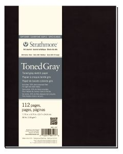 Strathmore toned gray softcover art journal 14 x 20,3