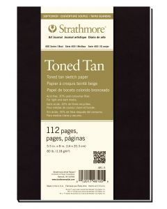 Strathmore toned tan softcover art journal 19,7 x 24,8