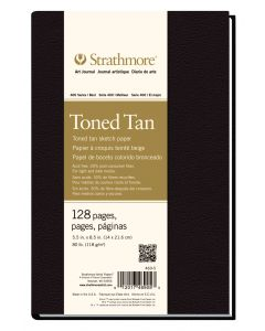 Strathmore 400 series toned tan art journal 14 x 21.6