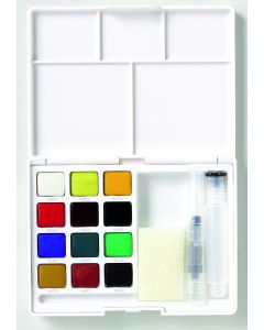 Sakura Koi watercolours pocket field sketch box 12