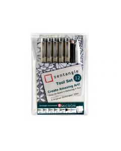 Sakura pigma micron Zentangle tool set 12
